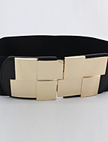 Women Han Edition Dress Adornment Fashion Belts Party/Casual Alloy Faux Leather Wide Belt