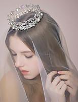 Women's Rhinestone/Crystal/Alloy/Imitation Pearl Headpiece - Wedding/Special Occasion Tiaras 1 Piece