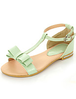 Women's Shoes Flat Heel Open Toe Sandals Outdoor/Dress/Casual Blue/Green/Beige