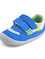 Baby Boys Shoes Outdoor/Casual Suede/Tulle Toddlers Athletic Shoes Blue