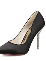 Women's Shoes Stiletto Heel Heels/Pointed Toe Pumps/Heels Casual Black/Pink/Gray/Beige