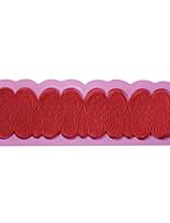 encajes de silicona para hornear molde fondant decoración de la torta del molde