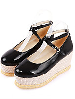 Women's Shoes  Wedge Heel Basic Pump Oxfords Office & Career/Dress/Casual Black/Red/Beige/Khaki