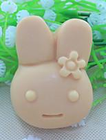 fondant conejo molde de silicona chocolate, herramientas de decoración para hornear