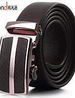 ALLFOND Men Party/Work/Casual Alloy/Leather Calfskin Waist Belt PZD4031-07