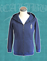 Fate Stay Night Saber Excalibur Deep Blue Coat Cosplay Costumes