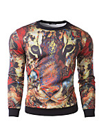 Men's Casual Print Long Sleeve Activewear Sets