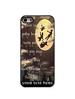 Personalized Gift Never Say Goodbye Design Aluminum Hard Case for iPhone 4/4S