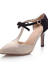 Women's Shoes Fleece Stiletto Heel Heels/Pointed Toe Pumps/Heels Dress Silver/Gold