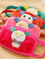 사랑스러운 양털 방진 겨울 열 어린이 건강 거즈 마스크 (임의의 색) 얼굴 마스크를 마스크