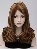 heißer Verkauf reiz Farbmix natürliche Welle Dame Perücken Haar schöne synthetische Haarperücken