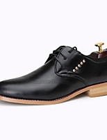 Men's Shoes Party & Evening Faux Leather Oxfords Black/Brown/Burgundy