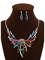 NEW Style Women's Eye-Catching Dream Wings Necklace Wedding/Party Jewelry Set (Necklace+Earrings)