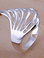 Cutout Angle's Wing Ring(Silver)(1Pc)