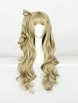 Love live ! South birds Brown/As Picture 80cm Cosplay Wigs
