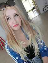 New Style Natural Wave Hair Wigs Synthetic Double Color Wave Hair Wigs