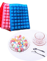 48 Letter Alphabet Silicone Cake Mould Baking Chocolate Ice Cube Tray (Random Color)