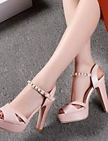 Women's Shoes  Stiletto Heel Heels/Peep Toe/Platform Sandals/Pumps/Heels Office & Career/Casual Black/Pink/White