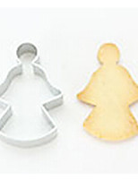 Angel Shape Durable Steel Cake Cookie Cutters Bread Biscuit DIY Mold Decorating Tool