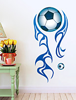 Wall Stickers Wall Decals Style Blood Football PVC Wall Stickers