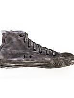Scarpe Donna - Sneakers alla moda / Scarpe da ginnastica - Tempo libero / Casual / Sportivo - Comoda - Piatto - Di corda - Grigio