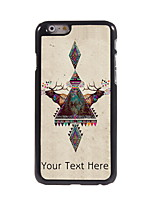 Personalized Gift Elk Design Aluminum Hard Case for iPhone 6