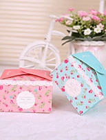 24 Piece/Set Favor Holder - Cubic Card Paper Favor Boxes Non-personalised