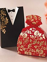 1 Piece/Set Favor Holder - Cuboid Card Paper Favor Boxes/Gift Boxes Personalized