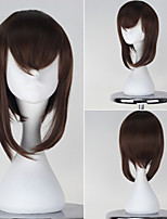 Kantai Collection Taiheu Brown Color Short Straight Girl's Game Cosplay Wig