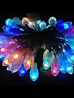 6W 5 Meter Outer Diameter 50pcs Bulb LED Modeling String Lighting Pinecone Lights, RGB Color