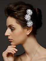 Licht Metaal Vrouwen Helm Bruiloft/Speciale gelegenheden Haarkammen Bruiloft/Speciale gelegenheden 1 Stuk