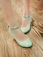 Women's Shoes  Wedge Heel Wedges Pumps/Heels Office & Career/Dress Green/Pink/Beige