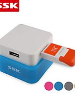 usb 2.0 ssk® shu020-1 4 puertos USBHUB alta velocidad