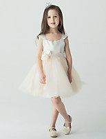 Flower Girl Dress - Palloncino Mini Senza Maniche Tulle