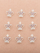 10Pcs/Set Lovely Unique Design Diamond 3D Alloy Nail Art Decoration