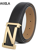 Men Party/Work/Casual Calfskin Waist Belt the new men's belt genuine leather belt male fashion wild Z-belt