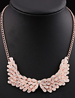 NEW Style Women's Eye-Catching Wing Zirconite Necklace Wedding/Party  1PCS