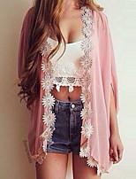 Women's Pink Blouse , Off Shoulder ¾ Sleeve