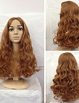 European Style Popular Long Hair Wigs Hair Natural Wave Synthetic Hair Wigs Hair Wigs