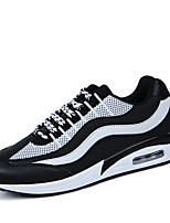 Men's Shoes Athletic Tulle Fashion Sneakers Black / Blue / Gray