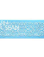 European Pattern Relief Lace Instant Lace Mold Cake Mold Silicone Baking Tools