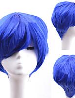 Grey Popular Short Hair Wigs Hair Wave Synthetic Hair Wigs