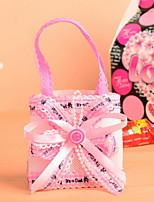 Non Woven Fabric Baby Shower Candy Favor Bags Wedding Set of 12