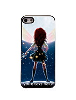 Personalized Gift The Girl Design Aluminum Hard Case for iPhone 4/4S