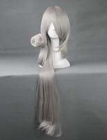 Touken Ranbu Tanto Imanoturugi Long Silvery Gray 80cm Cosplay Wigs