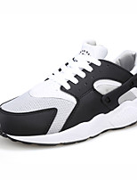 Men's Running Shoes Tulle/Fabric Black/White
