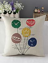 style campagnard coton fille romantique / lin taie d'oreiller décoratif