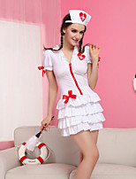 The Temptation Role Playing Sexy Lingerie Sexy Female Nursing Uniforms Women Chiffon Ultra Sexy Nightwear