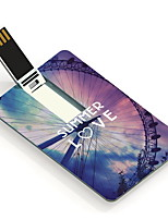 64GB Summer Love Design Card USB Flash Drive