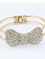 Diamond Bowknot Bracelet